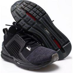 Puma - Buty Ignite Limitless Knit. Czarne buty sportowe męskie Puma, z gumy. W wyprzedaży za 429.90 zł.