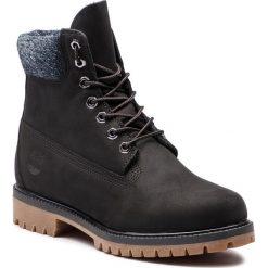 Trapery TIMBERLAND - Premium 6 In Waterproof Boot TB0A1UEJ0011 Black Nubuck. Czarne śniegowce i trapery męskie Timberland, z gumy. W wyprzedaży za 569.00 zł.