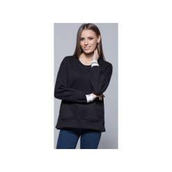 Bawełniana bluza czarna  H008. Szare bluzy damskie Harmony, z bawełny. Za 175.00 zł.