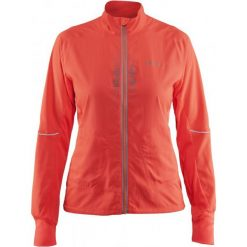 Craft Brilliant 2.0 Light Orange  M. Pomarańczowe kurtki sportowe damskie Craft, z materiału. W wyprzedaży za 299.00 zł.