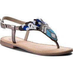 Japonki GIOSEPPO - 45305 Blue. Niebieskie klapki damskie Gioseppo, z materiału. W wyprzedaży za 149.00 zł.