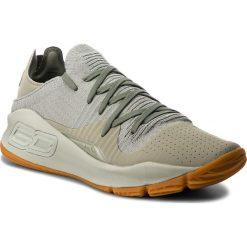Buty UNDER ARMOUR - Ua Curry 4 Low 3000083-301 Grn. Zielone buty sportowe męskie Under Armour, z materiału. W wyprzedaży za 299.00 zł.