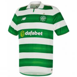 Koszulka Celtic F.C.Home Kit. Zielone koszulki sportowe męskie New Balance, na jesień, z materiału. W wyprzedaży za 119.99 zł.