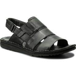 Sandały GRÜNLAND - Lapo SA1516-80 Nero. Czarne sandały męskie Grünland, ze skóry. W wyprzedaży za 219.00 zł.