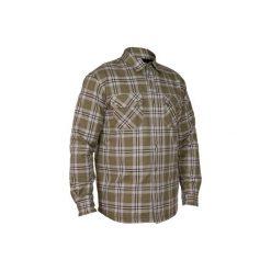 Koszula wierzchnia myśliwska 300. Szare koszule damskie SOLOGNAC, z długim rękawem. Za 119.99 zł.