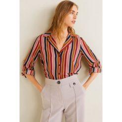 Mango - Koszula Gelatto2. Szare koszule damskie Mango, w paski, z poliesteru, z długim rękawem. Za 139.90 zł.