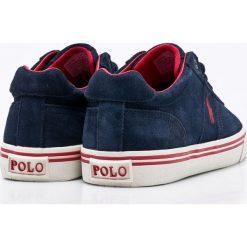 Polo Ralph Lauren - Buty. Szare buty sportowe męskie Polo Ralph Lauren, z gumy. W wyprzedaży za 269.90 zł.
