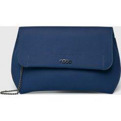 Nobo - Kopertówka. Niebieskie kopertówki damskie Nobo, w paski, z materiału, casualowe. W wyprzedaży za 89.90 zł.