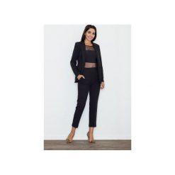 Spodnie M552 Czarny. Czarne spodnie materiałowe damskie Figl. Za 149.00 zł.