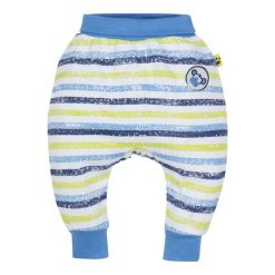 G-Mini Chłopięce Spodnie Dresowe Małpka, 62, Niebieskie/Zielone. Spodnie sportowe dla chłopców marki Reserved. Za 35.00 zł.