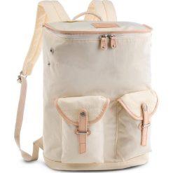 Plecak DOUGHNUT - D218-0002-F Cappella Cream. Brązowe plecaki damskie Doughnut, z materiału. Za 359.00 zł.