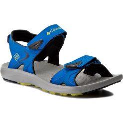 Sandały COLUMBIA - Techsun BM4511 Blue Magic/Zour 426. Niebieskie sandały męskie Columbia, z gumy. W wyprzedaży za 179.00 zł.