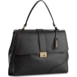 Torebka MY TWIN - Top Handle Grand RS8TEB Nero 00006. Czarne torebki do ręki damskie My Twin, ze skóry ekologicznej. W wyprzedaży za 409.00 zł.