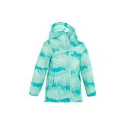 Kurtka turystyczna Hike 150 dla dziewczynek. Szare kurtki i płaszcze dla dziewczynek QUECHUA. W wyprzedaży za 39.99 zł.