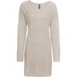 Sweter dzianinowy bonprix szary. Swetry damskie marki KALENJI. Za 99.99 zł.