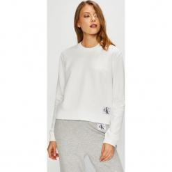 Calvin Klein Jeans - Bluza. Szare bluzy damskie Calvin Klein Jeans, z bawełny. Za 359.90 zł.
