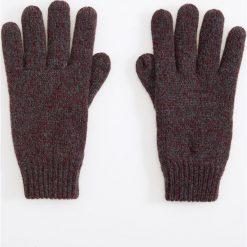 Rękawiczki - Bordowy. Czerwone rękawiczki męskie Reserved. Za 39.99 zł.