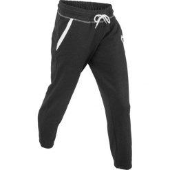 Spodnie sportowe, dł. 7/8, Level 1 bonprix czarny melanż. Spodnie dresowe damskie marki bonprix. Za 74.99 zł.