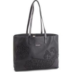 Torebka DESIGUAL - 18WAXP40 2000. Czarne torebki do ręki damskie Desigual, ze skóry ekologicznej. Za 449.90 zł.