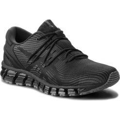 Buty ASICS - Gel-Quantum 360 4 1021A028 Dark Grey/Black 020. Czarne buty sportowe męskie Asics, z materiału. W wyprzedaży za 639.00 zł.