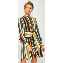 Answear - Sukienka Falling In Autumn. Szare sukienki damskie ANSWEAR, z tkaniny, casualowe. Za 169.90 zł.