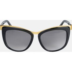 Czarne okulary przeciwsłoneczne. Okulary przeciwsłoneczne damskie marki QUECHUA. Za 399.00 zł.