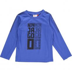 """Koszulka """"Thomas 702"""" w kolorze niebieskim. Niebieskie t-shirty dla chłopców marki Lego Wear Fashion, z nadrukiem, z długim rękawem. W wyprzedaży za 49.95 zł."""