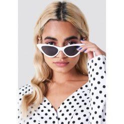 NA-KD Accessories Okulary przeciwsłoneczne Pointy Cat Eye - White. Białe okulary przeciwsłoneczne damskie NA-KD Accessories. Za 60.95 zł.