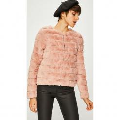 Vero Moda - Kurtka Avenue. Różowe kurtki damskie Vero Moda, z haftami, z poliesteru. Za 219.90 zł.