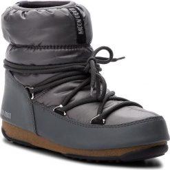 Śniegowce MOON BOOT - Low Nylon Wp 24006200007  Castle Rock. Szare kozaki damskie Moon Boot, z materiału. Za 559.00 zł.