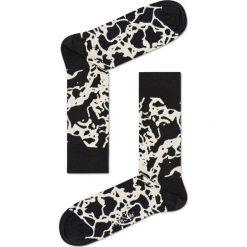 Happy Socks - Skarpety Marble. Czarne skarpety męskie Happy Socks, z bawełny. Za 39.90 zł.