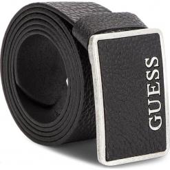 Pasek Męski GUESS - BM7075 LEA40  BLA. Czarne paski damskie Guess, z aplikacjami, ze skóry. Za 189.00 zł.