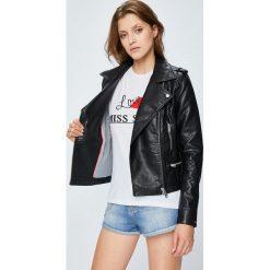 Tommy Jeans - Kurtka Easy. Szare kurtki damskie Tommy Jeans, z bawełny. Za 799.90 zł.