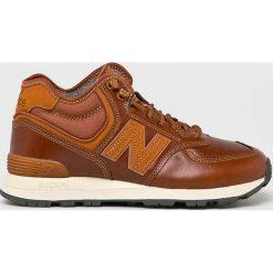 New Balance - Buty MH574OAD. Brązowe buty sportowe męskie New Balance, z materiału. W wyprzedaży za 439.90 zł.