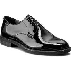 Oxfordy VAGABOND - Amina 4203-260-20 Black. Czarne półbuty damskie Vagabond, z lakierowanej skóry. Za 419.00 zł.