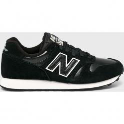 New Balance - Buty WL373BBL. Czarne obuwie sportowe damskie New Balance, z gumy. Za 299.90 zł.