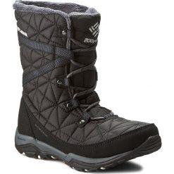 Śniegowce COLUMBIA - Loveland Mid Omni-Heat BL1743 Black/Sea Salt 010. Czarne kozaki damskie Columbia, z materiału. Za 449.99 zł.