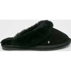 Emu Australia - Kapcie Jolie. Czarne kapcie damskie Emu Australia, z gumy. Za 339.90 zł.