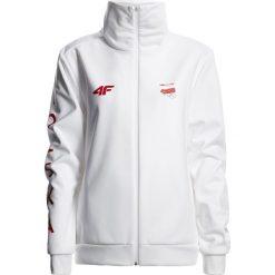 Bluza defiladowa męska Polska Pyeongchang 2018 BLM902R - biały. Białe bluzy męskie 4f, na zimę, z napisami, z dzianiny. W wyprzedaży za 199.99 zł.