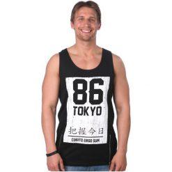 Brave Soul T-Shirt Męski Diamond S Czarny. Czarne t-shirty męskie Brave Soul. W wyprzedaży za 37.00 zł.
