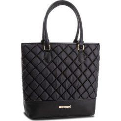 Torebka MONNARI - BAGB300-020 Black. Czarne torebki do ręki damskie Monnari, z materiału. W wyprzedaży za 199.00 zł.