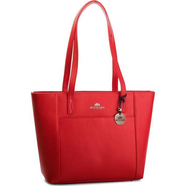 4f8e379238753 Torebka WITTCHEN - 36-4-076-3 Czerwony - Czerwone torebki do ręki ...