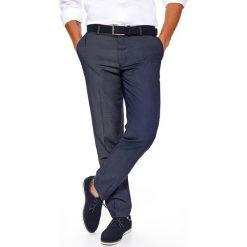 4bf4758026467 SPODNIE MĘSKIE ELEGANCKIE OD GARNITURU ZE STRUKTURALNEJ TKANINY. Eleganckie spodnie  męskie marki TOP SECRET.