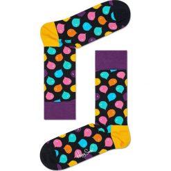 Happy Socks - Skarpetki Singing Birthday Gift Box (3-pack). Czarne skarpety damskie Happy Socks, z bawełny. W wyprzedaży za 89.90 zł.