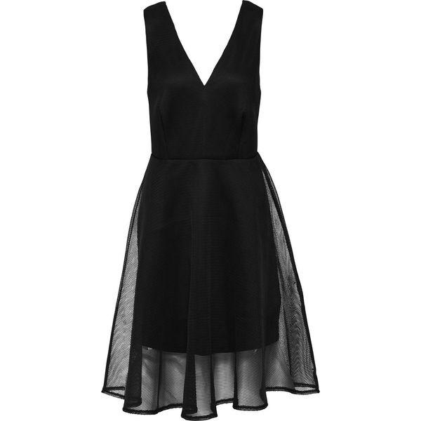 1adfd9b695 Sukienka z siatkową wstawką bonprix czarny - Sukienki damskie marki ...