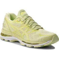 Buty ASICS - Gel-Nimbus 20 T850N Limelight/Limelight/Safety Yellow 8585. Żółte obuwie sportowe damskie Asics, z materiału. W wyprzedaży za 499.00 zł.