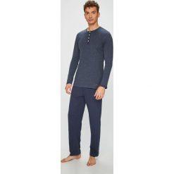 Tom Tailor Denim - Piżama. Szare piżamy męskie Tom Tailor Denim, z bawełny. W wyprzedaży za 139.90 zł.