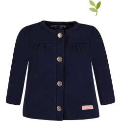 Bluza w kolorze granatowym. Niebieskie bluzy dla dziewczynek bellybutton, z bawełny. W wyprzedaży za 59.95 zł.
