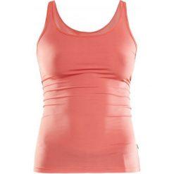Craft Koszulka Essential Orange S. Pomarańczowe koszulki sportowe damskie Craft, na ramiączkach. W wyprzedaży za 55.00 zł.