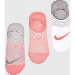 Nike - Skarpetki (3-pack). Szare skarpety damskie Nike, z elastanu. Za 59.90 zł.